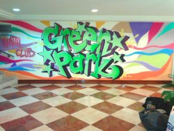 Fitness graffiti yapan 100